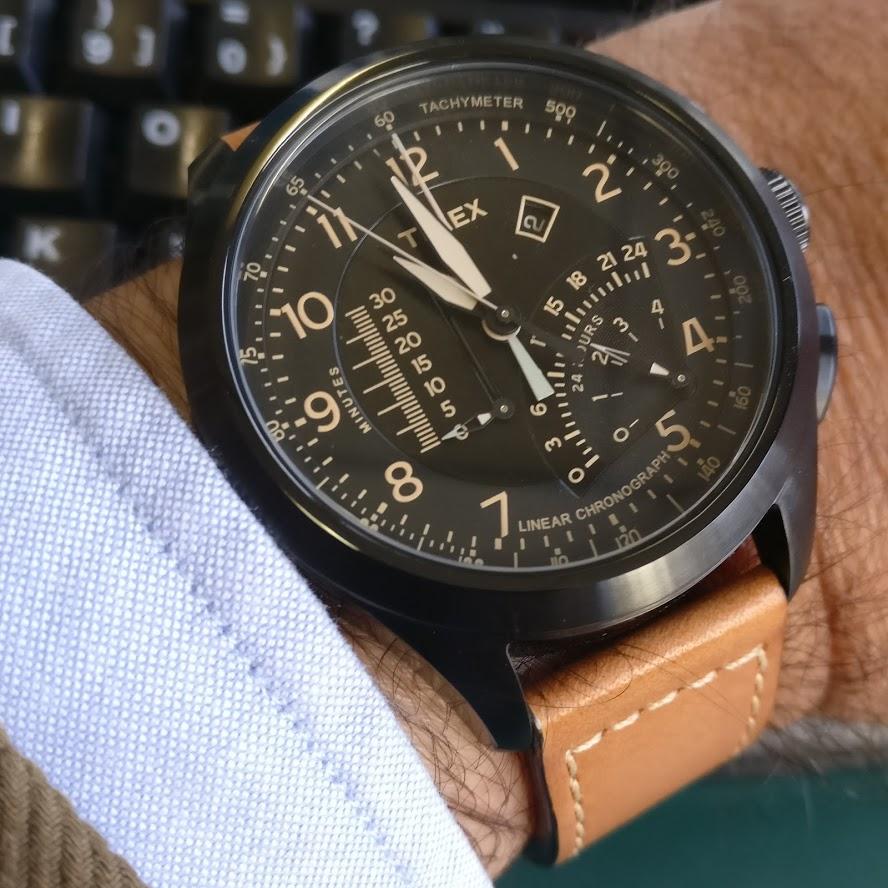 [Vendido] Timex Cronógrafo Intelligent Quartz T2P277 Img_2293