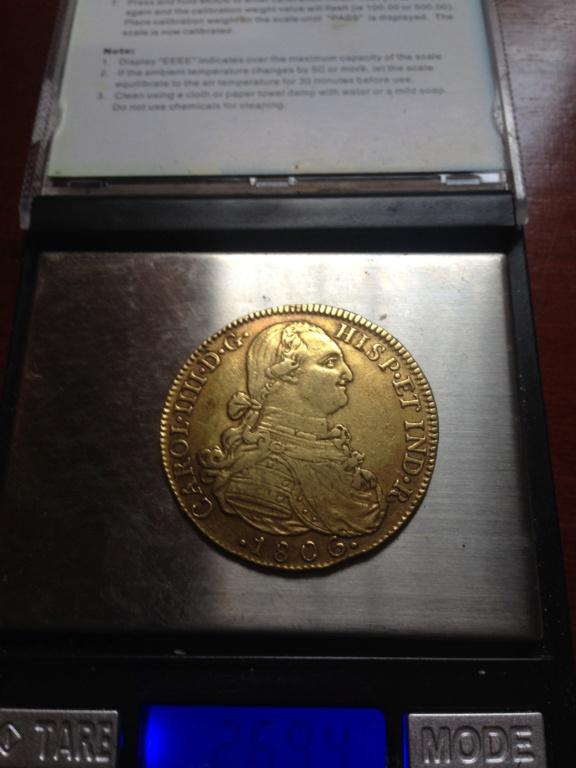 8 escudos 1806. Carlos IV. Nuevo reino. JJ. Img_0512