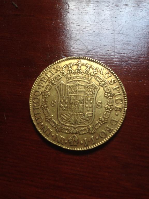 8 escudos 1806. Carlos IV. Nuevo reino. JJ. Img_0611