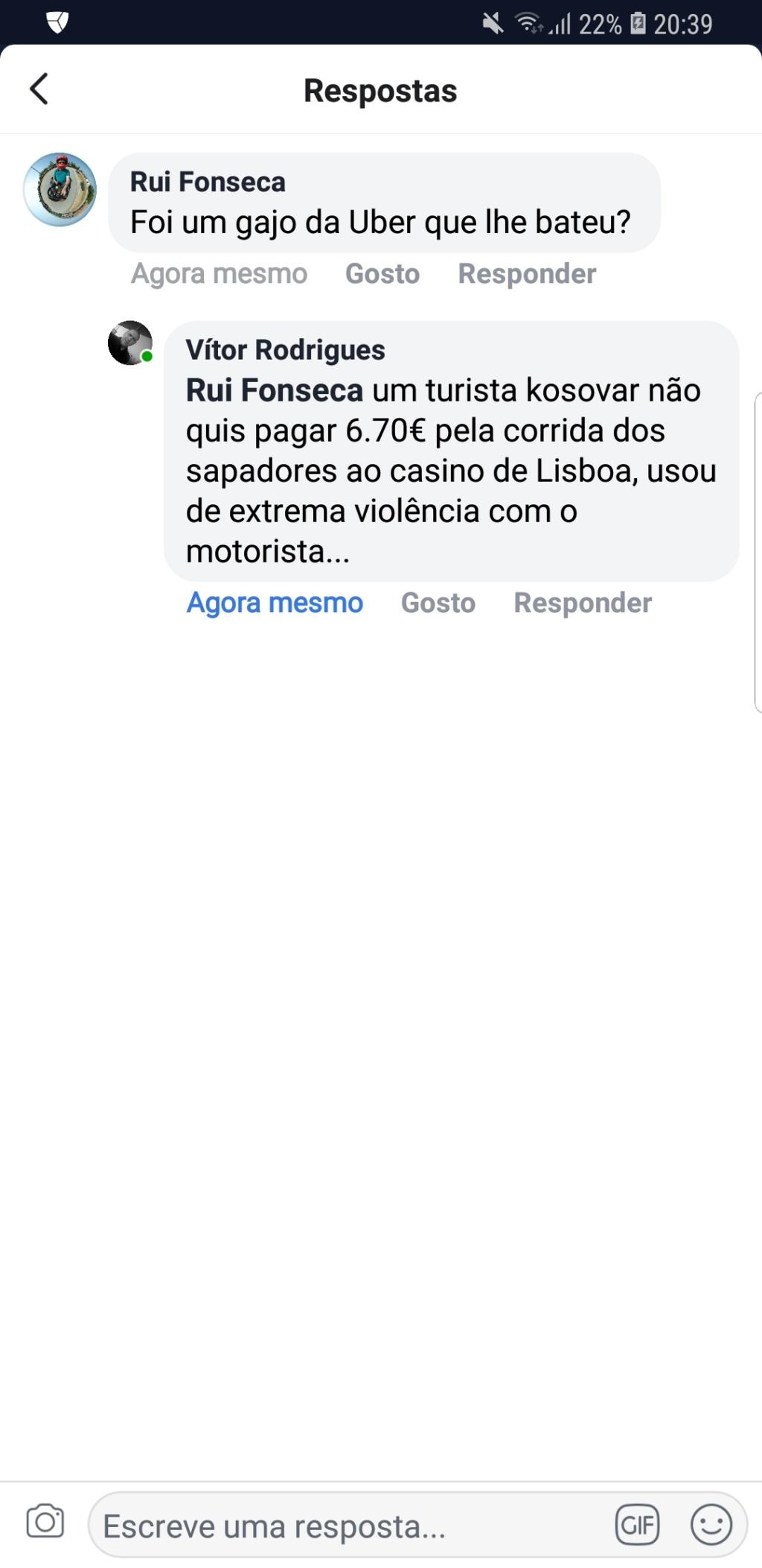 Ahhh ... os portugueses são racistas e xenófobos! Screen11