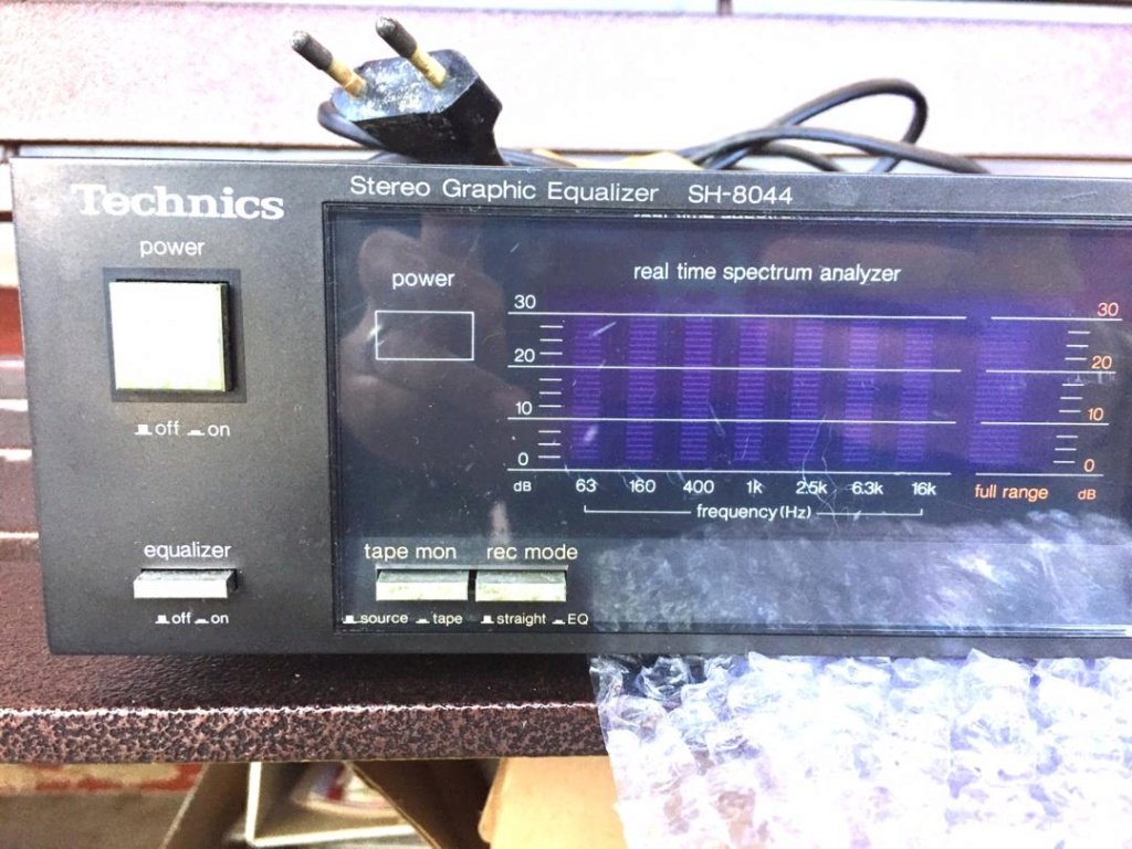 (Used)Technics Graphic Equalizer SH-8044(black) Img-2013