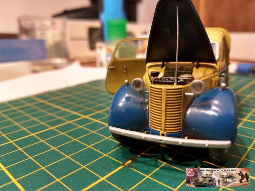 Matériels pour dio SCI FI - 1/35 scratch - Page 2 Austin13