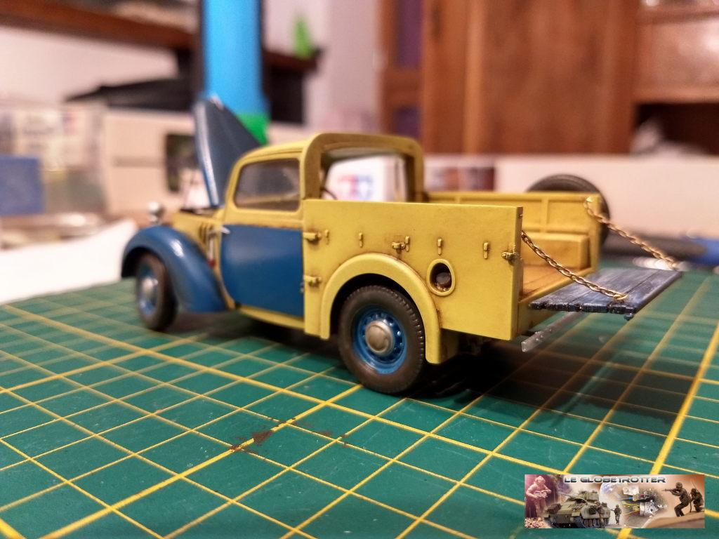 Matériels pour dio SCI FI - 1/35 scratch - Page 2 Austin16