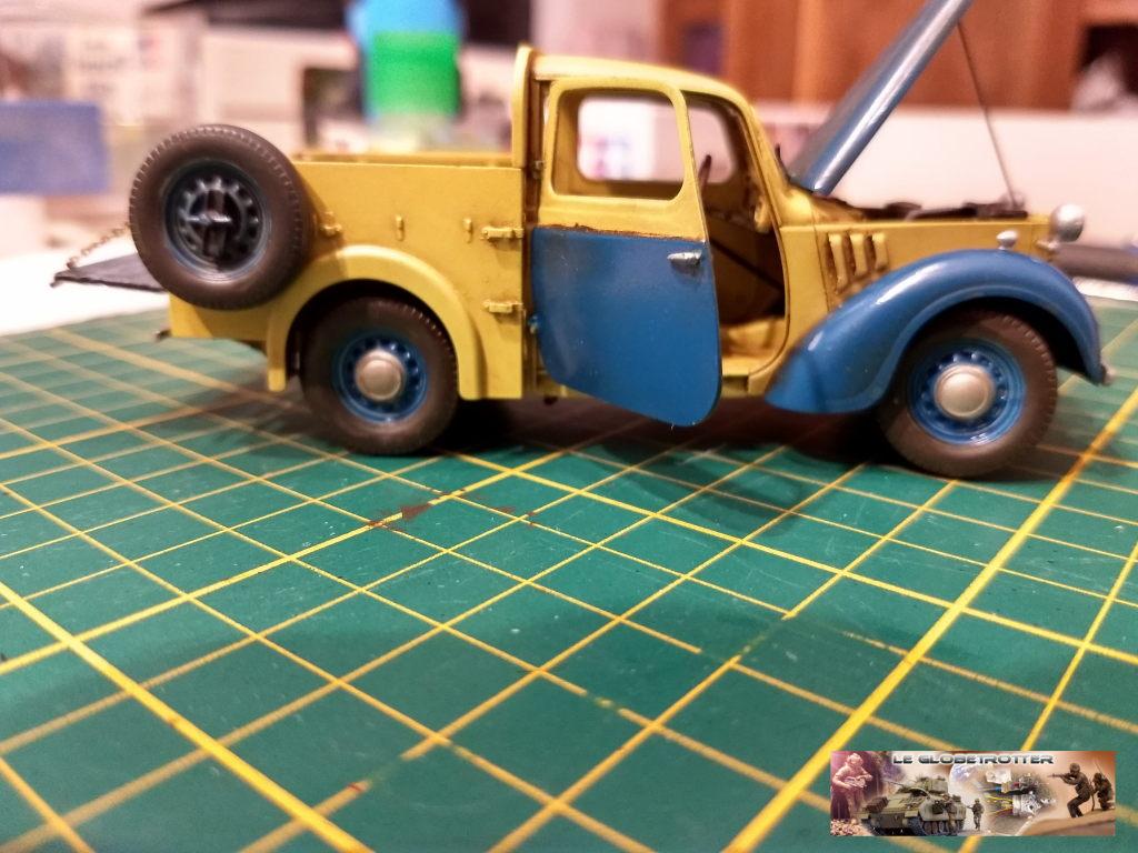 Matériels pour dio SCI FI - 1/35 scratch - Page 2 Austin19