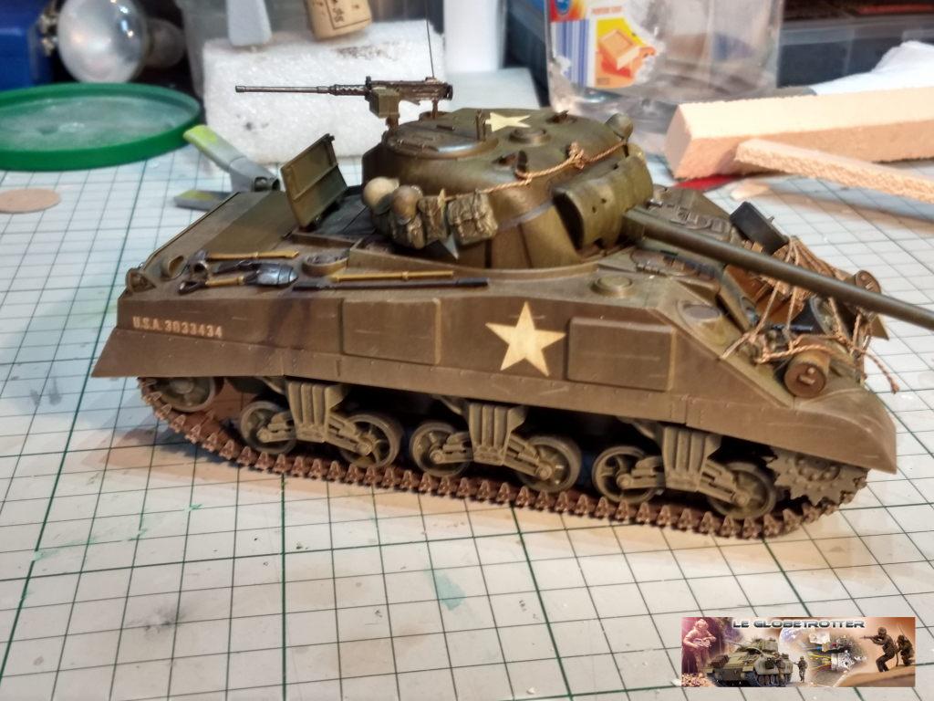 """Sherman M4 - avec tourelle de 76 mm - Tamiya 1/35 """"utopie"""" Sherma13"""