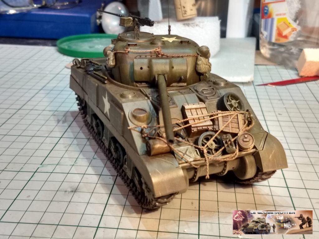 """Sherman M4 - avec tourelle de 76 mm - Tamiya 1/35 """"utopie"""" Sherma14"""