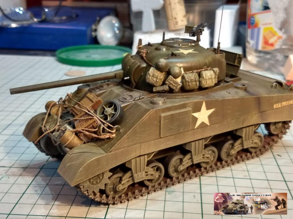 """Sherman M4 - avec tourelle de 76 mm - Tamiya 1/35 """"utopie"""" Sherma15"""