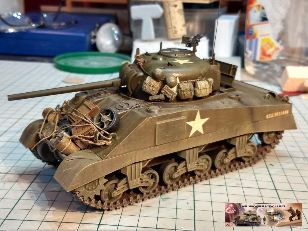 """Sherman M4 - avec tourelle de 76 mm - Tamiya 1/35 """"utopie"""" Sherma16"""