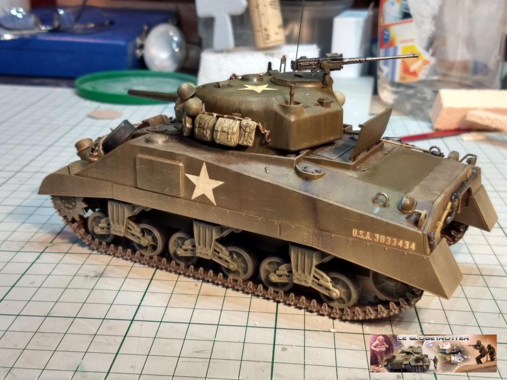 """Sherman M4 - avec tourelle de 76 mm - Tamiya 1/35 """"utopie"""" Sherma18"""