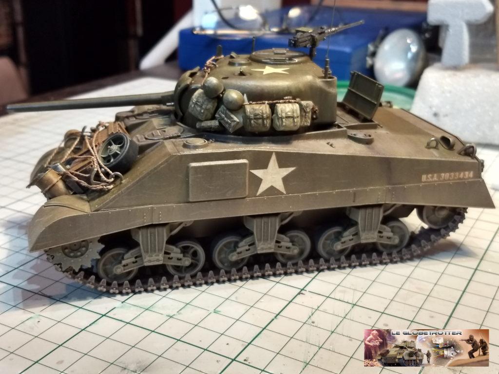 """Sherman M4 - avec tourelle de 76 mm - Tamiya 1/35 """"utopie"""" Sherma20"""
