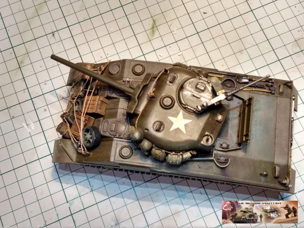 """Sherman M4 - avec tourelle de 76 mm - Tamiya 1/35 """"utopie"""" Sherma21"""