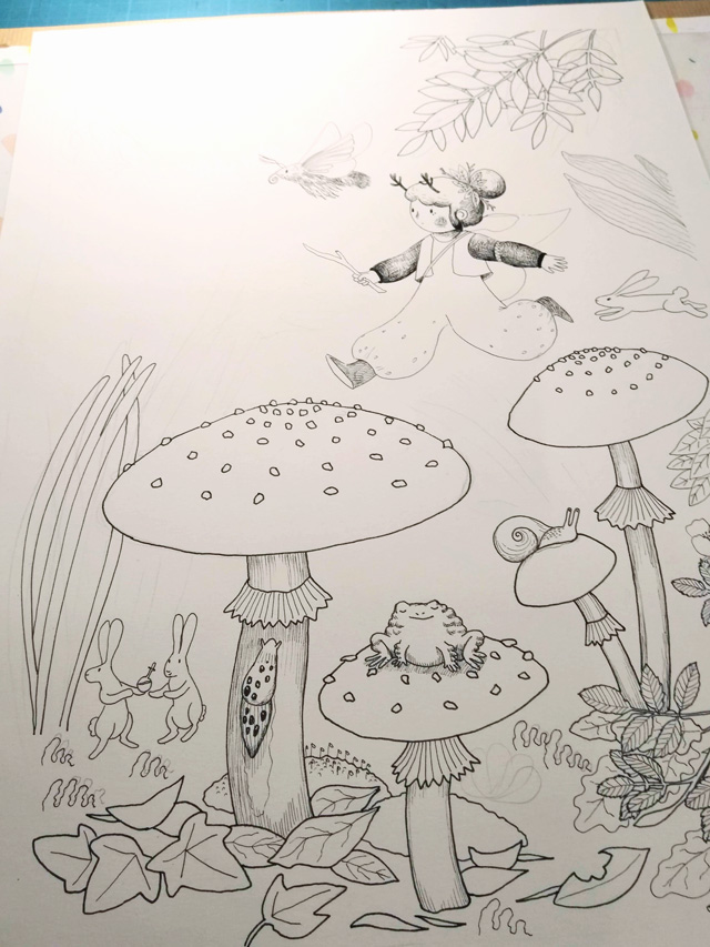 [promo] Herbarium magicae, les sorcières botaniques | Artbook en crowdfunding Img_2010