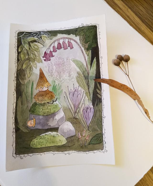 [promo] Herbarium magicae, les sorcières botaniques | Artbook en crowdfunding Pigmou10