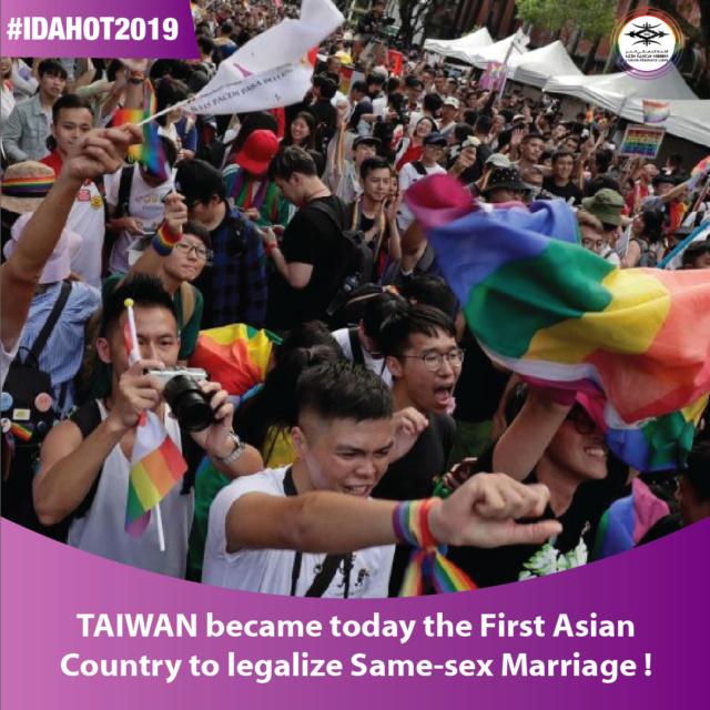 Taiwan Legalise le Marriage pour tous ! T-0110