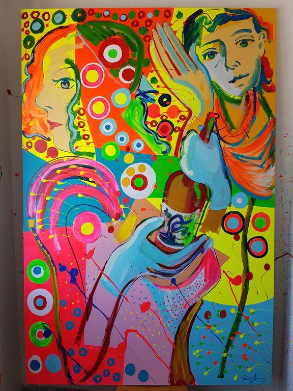 El Puntillismo Abstracto de Gabino Amaya Cacho El_int10