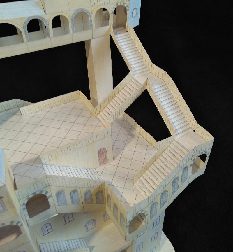 Selbst entworfene Gebäudemodelle von Michael 97 Aussic10