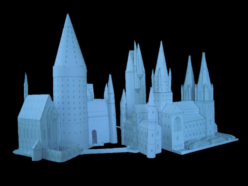 Selbst entworfene Gebäudemodelle von Michael 97 Hogwar10