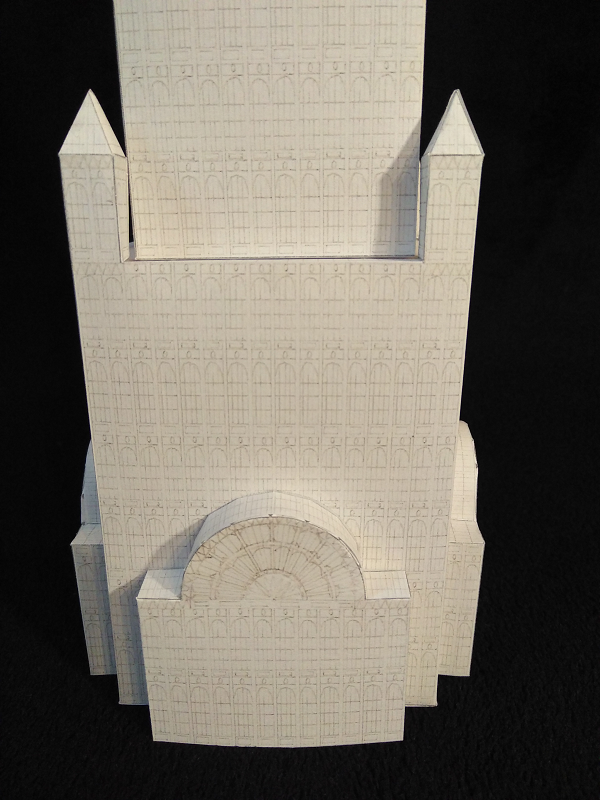 Selbst entworfene Gebäudemodelle von Michael 97 Krista12