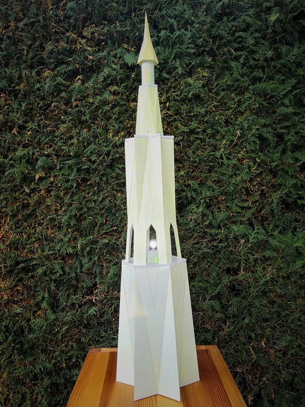 Selbst entworfene Gebäudemodelle von Michael 97 Leucht12