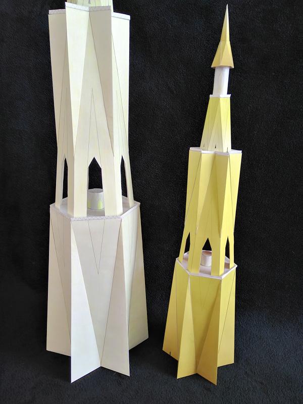Selbst entworfene Gebäudemodelle von Michael 97 Leucht13