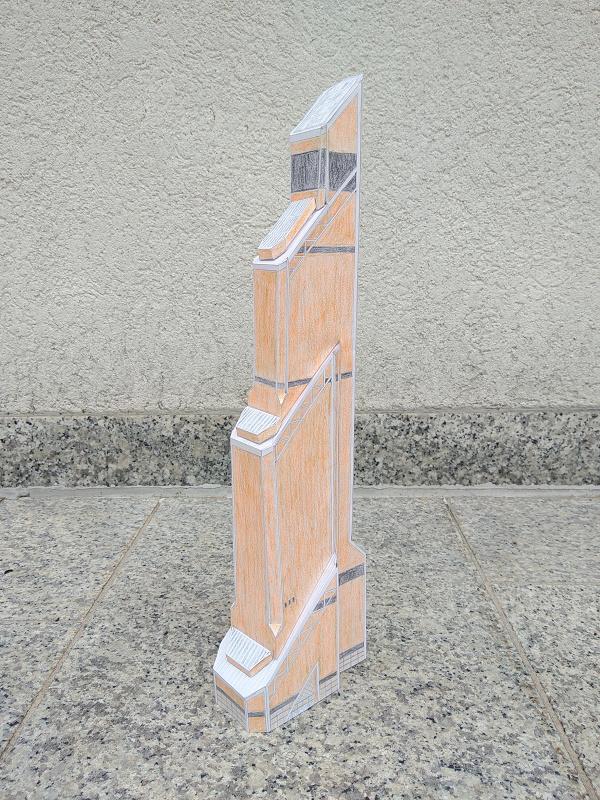 Selbst entworfene Gebäudemodelle von Michael 97 Mercur11