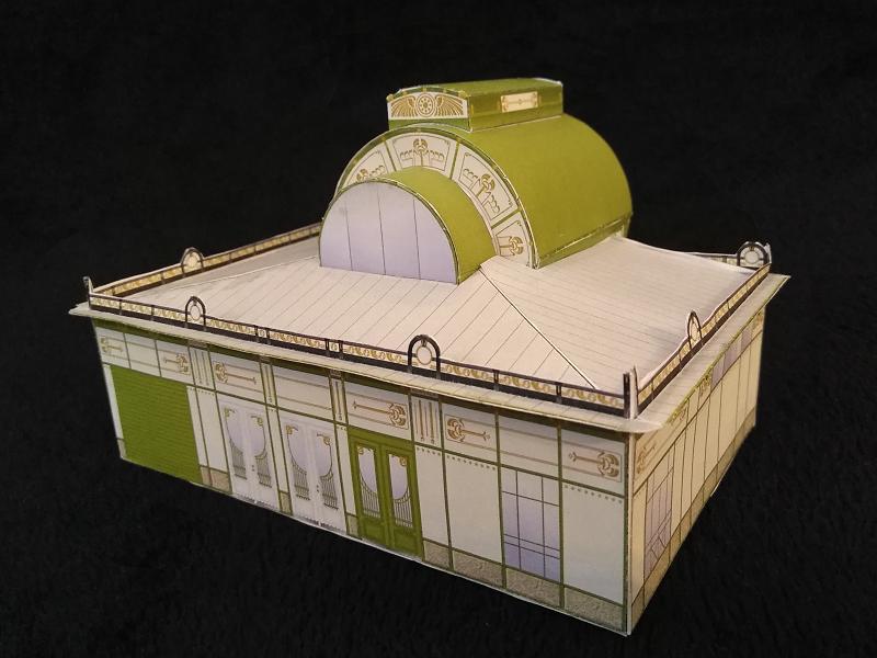 Selbst entworfene Gebäudemodelle von Michael 97 Otto_w11