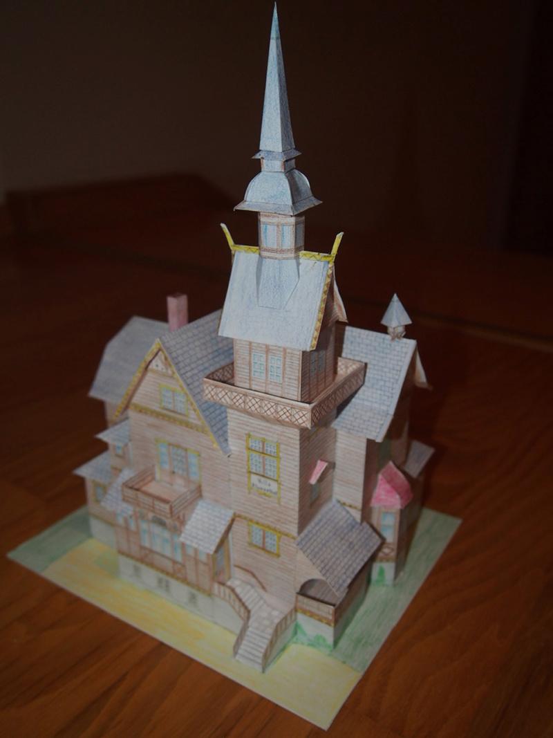 Selbst entworfene Gebäudemodelle von Michael 97 - Seite 2 P1251610
