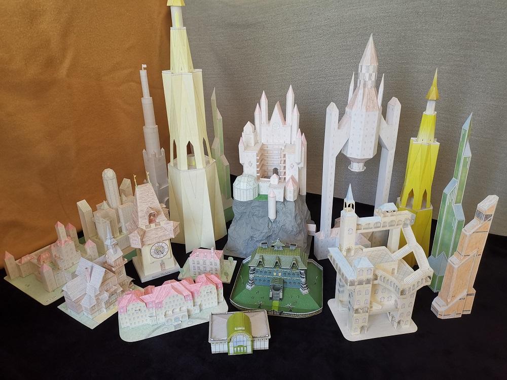 Selbst entworfene Gebäudemodelle von Michael 97 - Seite 2 Papier10