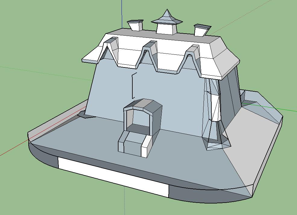 Luigi's Mansion - Die Gruselvilla aus dem Gamecube-Klassiker Skizze11