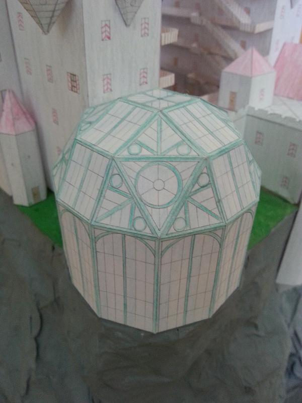 Selbst entworfene Gebäudemodelle von Michael 97 Walens11