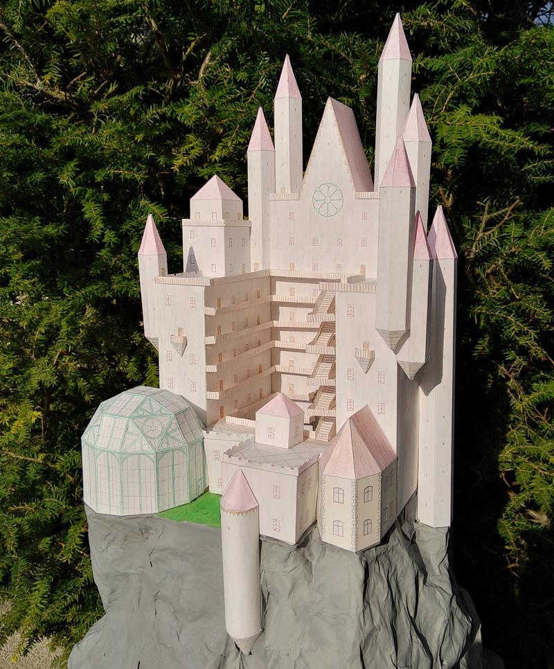 Selbst entworfene Gebäudemodelle von Michael 97 Walens12