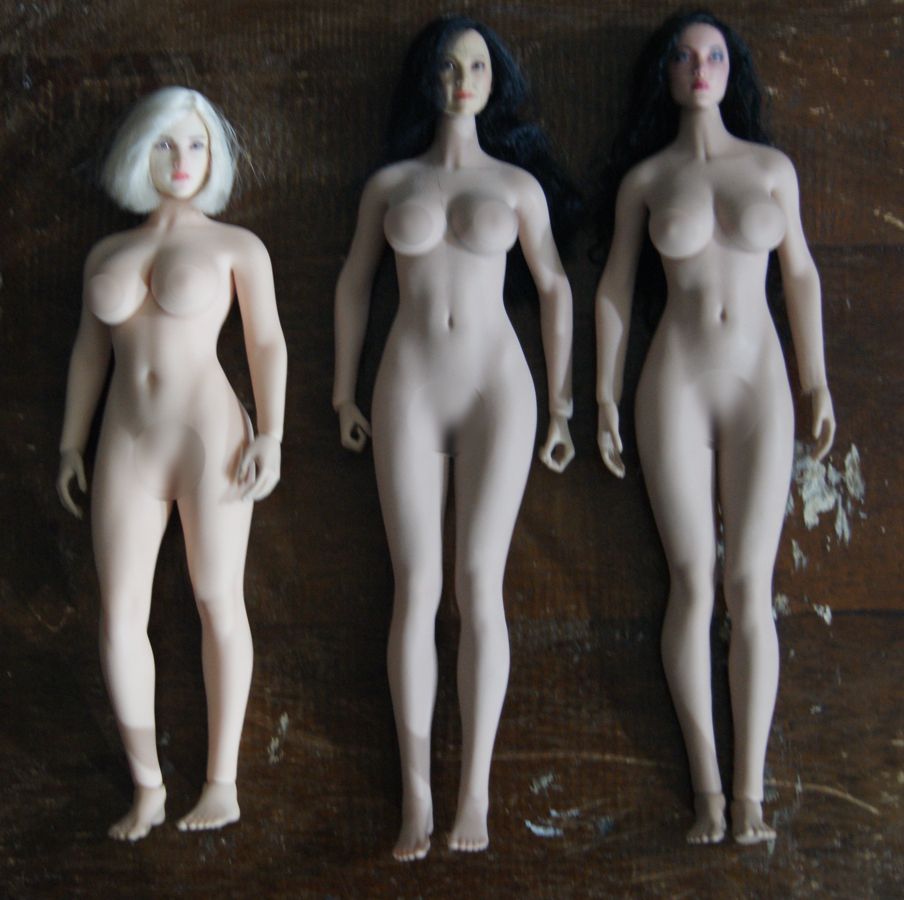 """tbleague - NEW PRODUCT: TBLeague: 1/6 scale """"Chubby"""" Female Body (2 styles, with or without a head sculpt) - Page 2 110"""