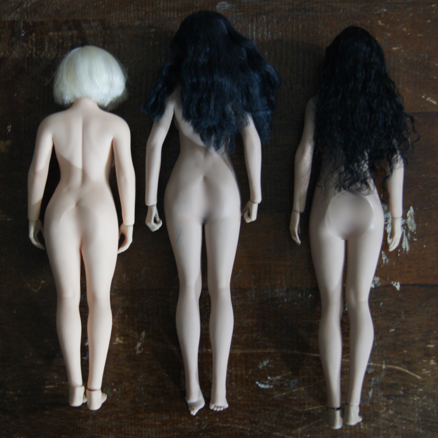 """tbleague - NEW PRODUCT: TBLeague: 1/6 scale """"Chubby"""" Female Body (2 styles, with or without a head sculpt) - Page 2 210"""