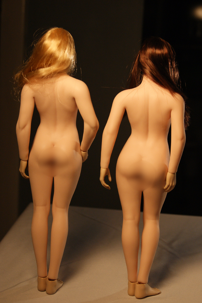 "body - NEW PRODUCT: TBLeague: 1/6 scale ""Chubby"" Female Body (2 styles, with or without a head sculpt) Compar16"