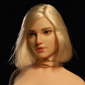 female - NEW PRODUCT: SUPER DUCK: 1/6 SDH018 Female head carving - ABC three models Figure12