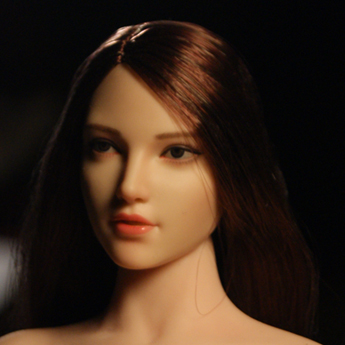 SuperDuck - NEW PRODUCT: SUPER DUCK: 1/6 SDH018 Female head carving - ABC three models Figure13