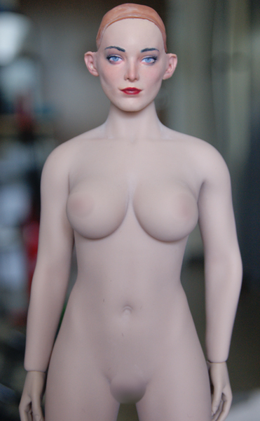 CowPenToys - NEW PRODUCT: COW PEN TOYS: 1 / 6 NB-002 female head carved Polaris Emma - a total of 4 models Polari10