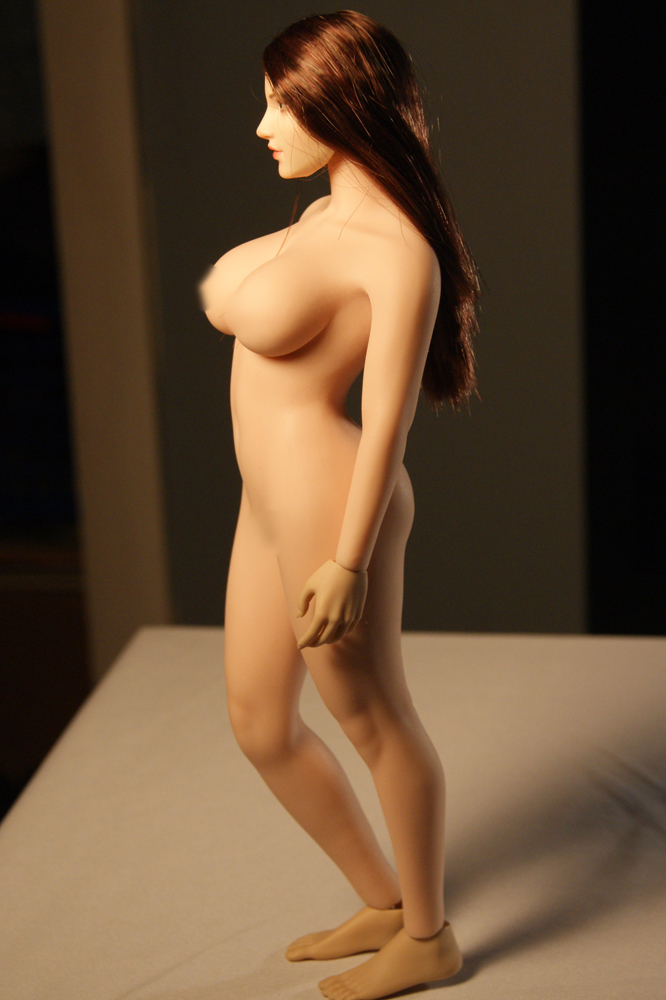 "body - NEW PRODUCT: TBLeague: 1/6 scale ""Chubby"" Female Body (2 styles, with or without a head sculpt) S38_610"