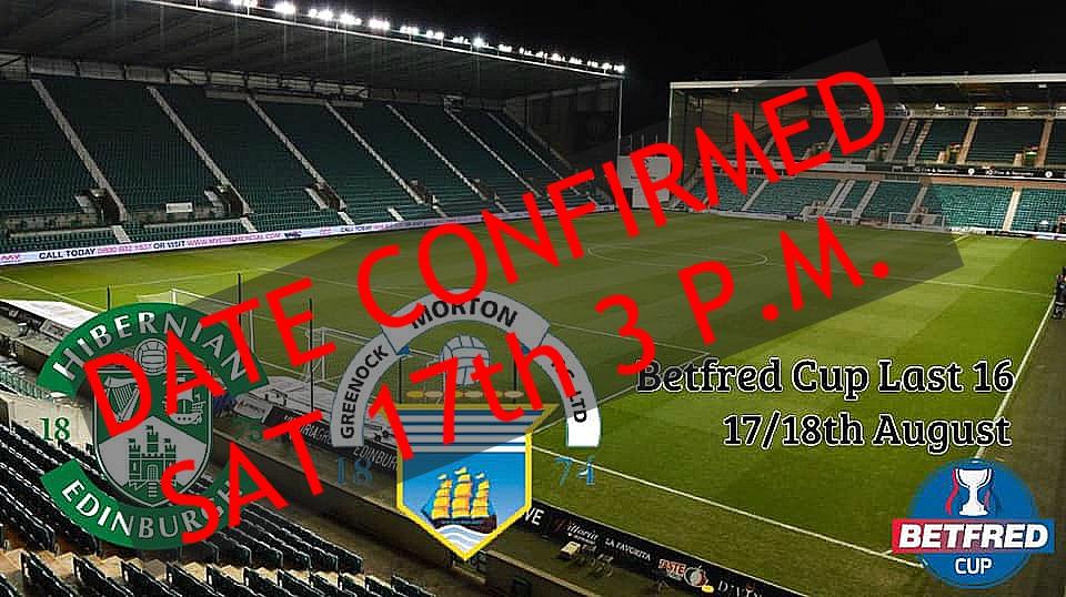 Hibs v Morton - Betfred Cup 67485710