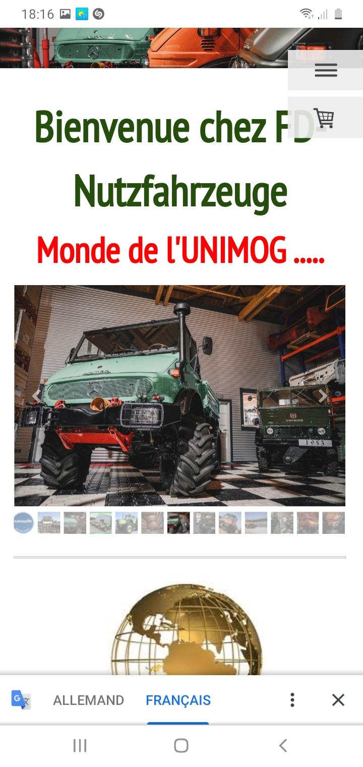 Unimog 2010 de 1953 à vendre pour collectionneur richissime ! Screen10