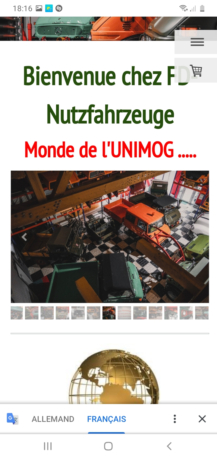 Unimog 2010 de 1953 à vendre pour collectionneur richissime ! Screen11