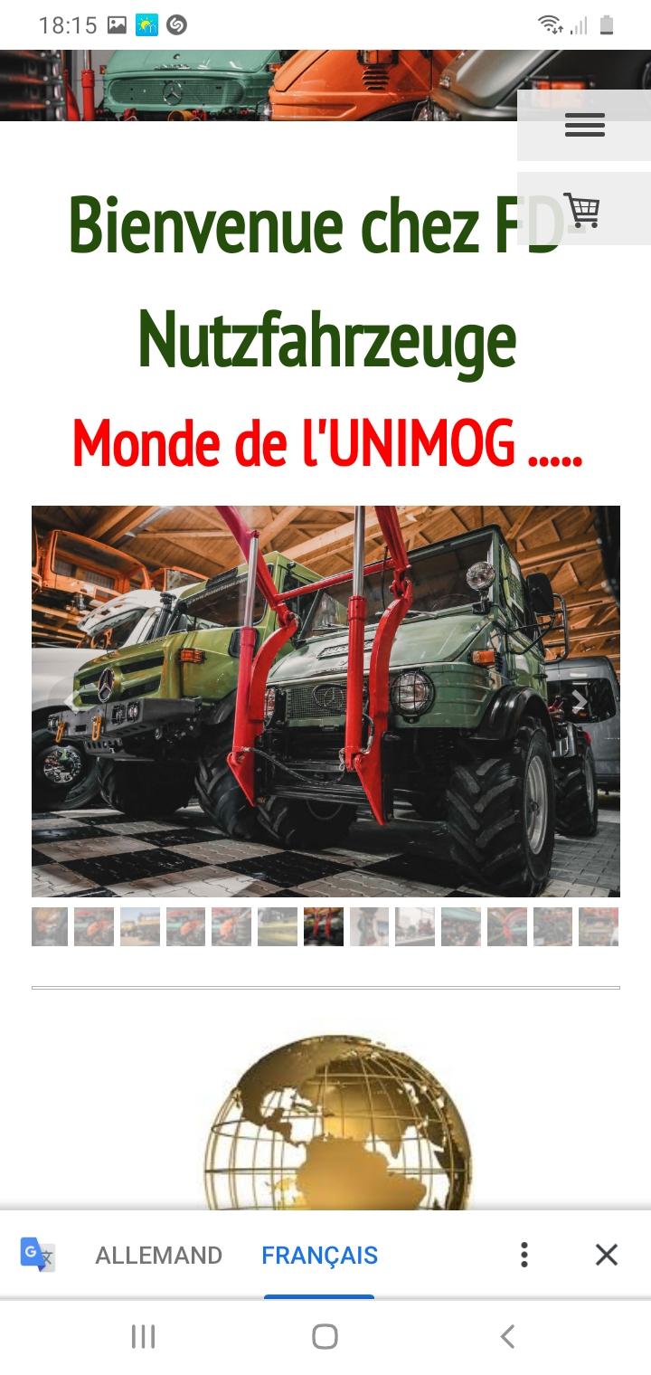 Unimog 2010 de 1953 à vendre pour collectionneur richissime ! Screen12