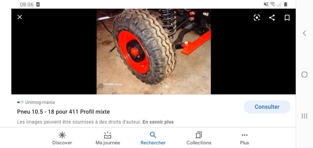 Recherche pneu pour Unimog 411 Screen14