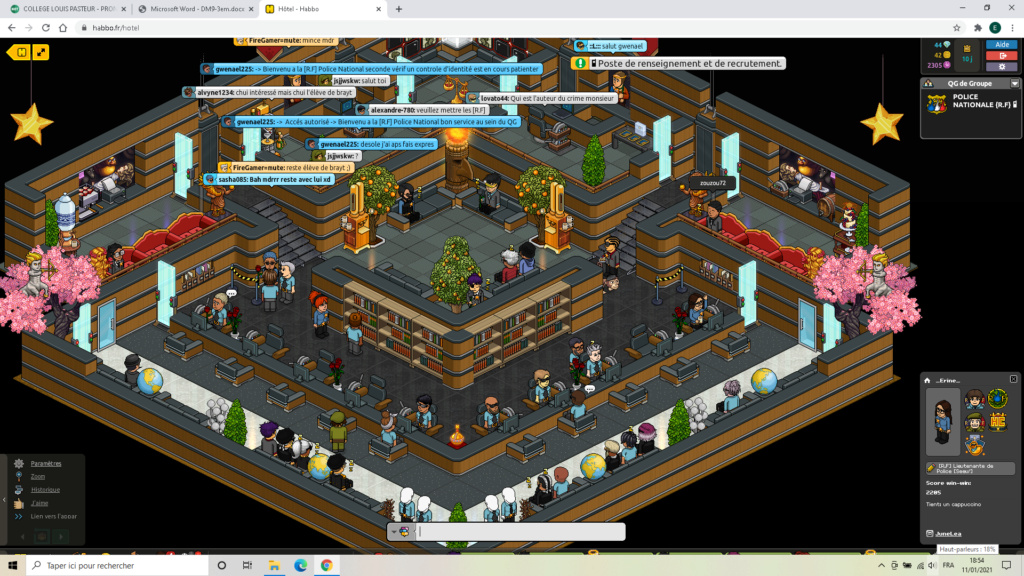 [PN] Rapports d'activités de _Erine_ Captu222