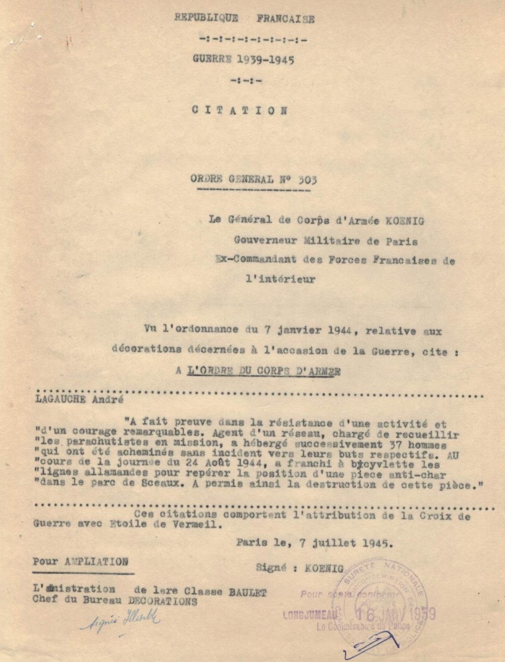 Drapeau France libre avec étoiles Citati11