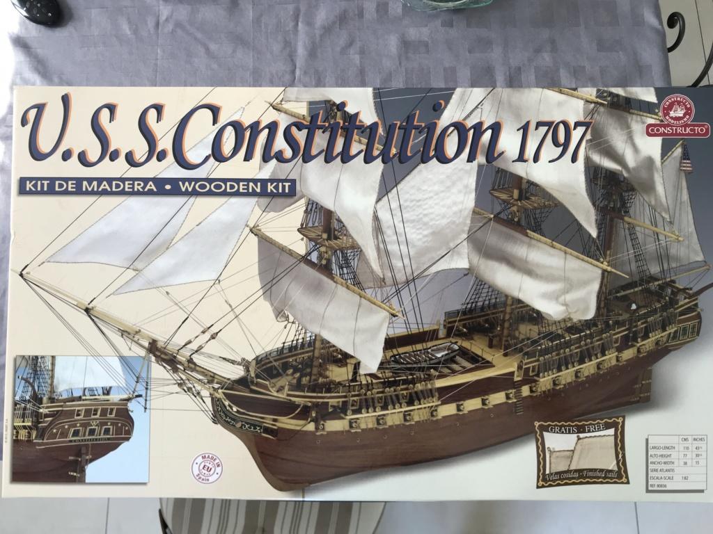 Frégate USS Constitution de Constructo premiers pas ..... Image10