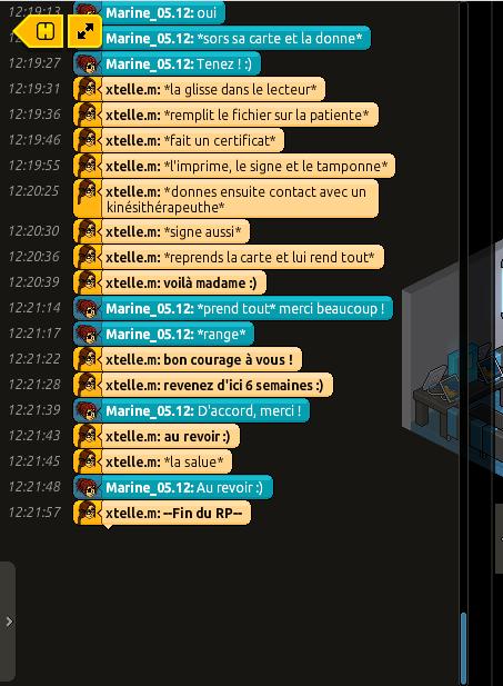 [C.H.U] Rapports d'actions RP de xtelle.m Rp519