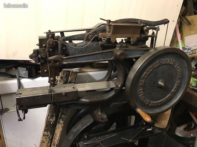 Machine à coudre de Sellier UNITED 6 (Pearson) 2f8b6810