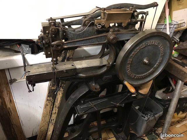 Machine à coudre de Sellier UNITED 6 (Pearson) Af87fe10