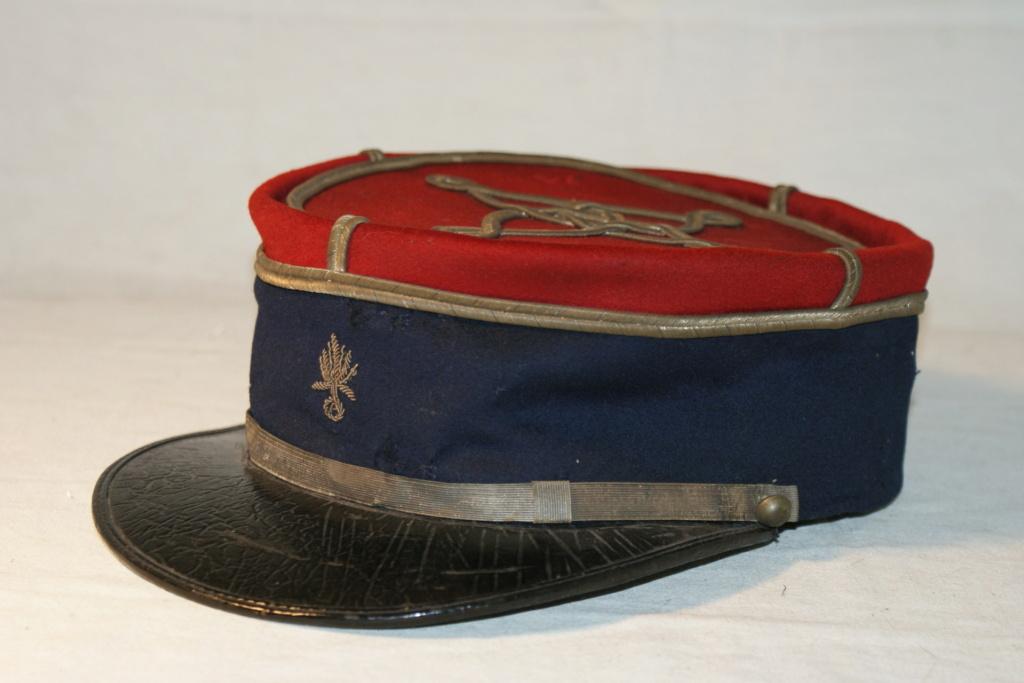 képi de sous officier service automobile du train des équipages 1910 Dsc09610